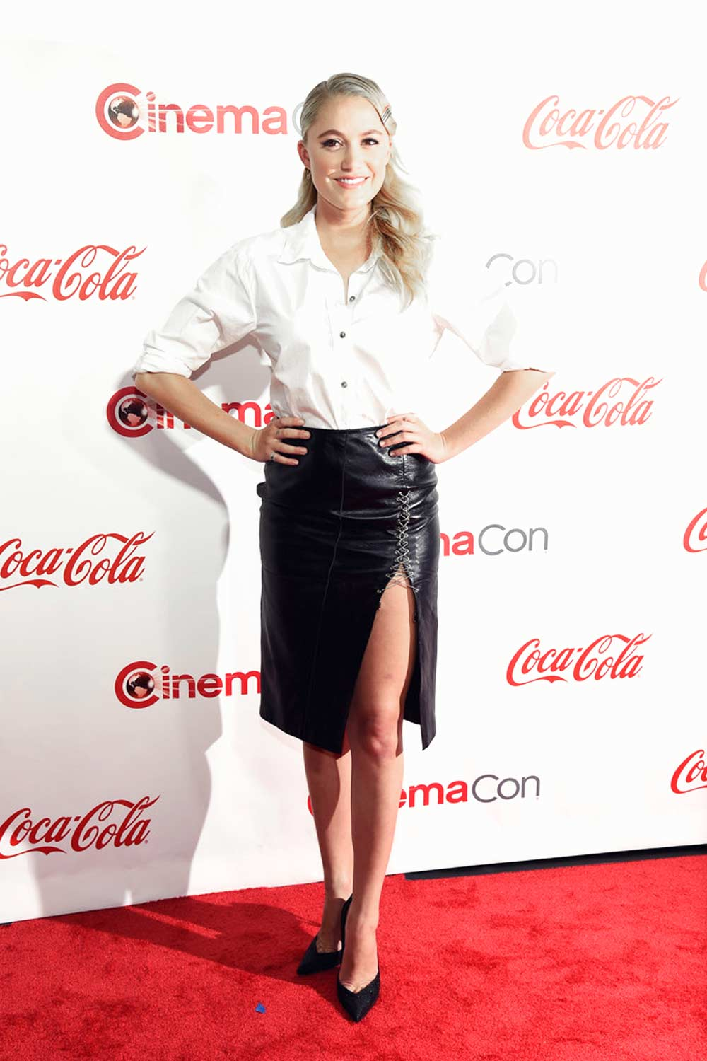 Maika Monroe attends The CinemaCon Big Screen Achievement Awards