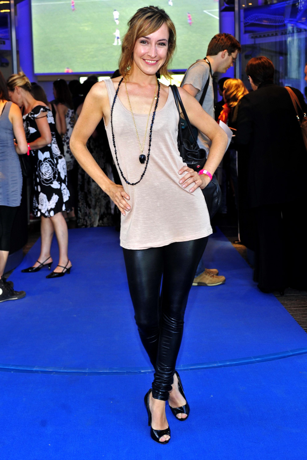 Maike von Bremen at Berlin Fashion Show