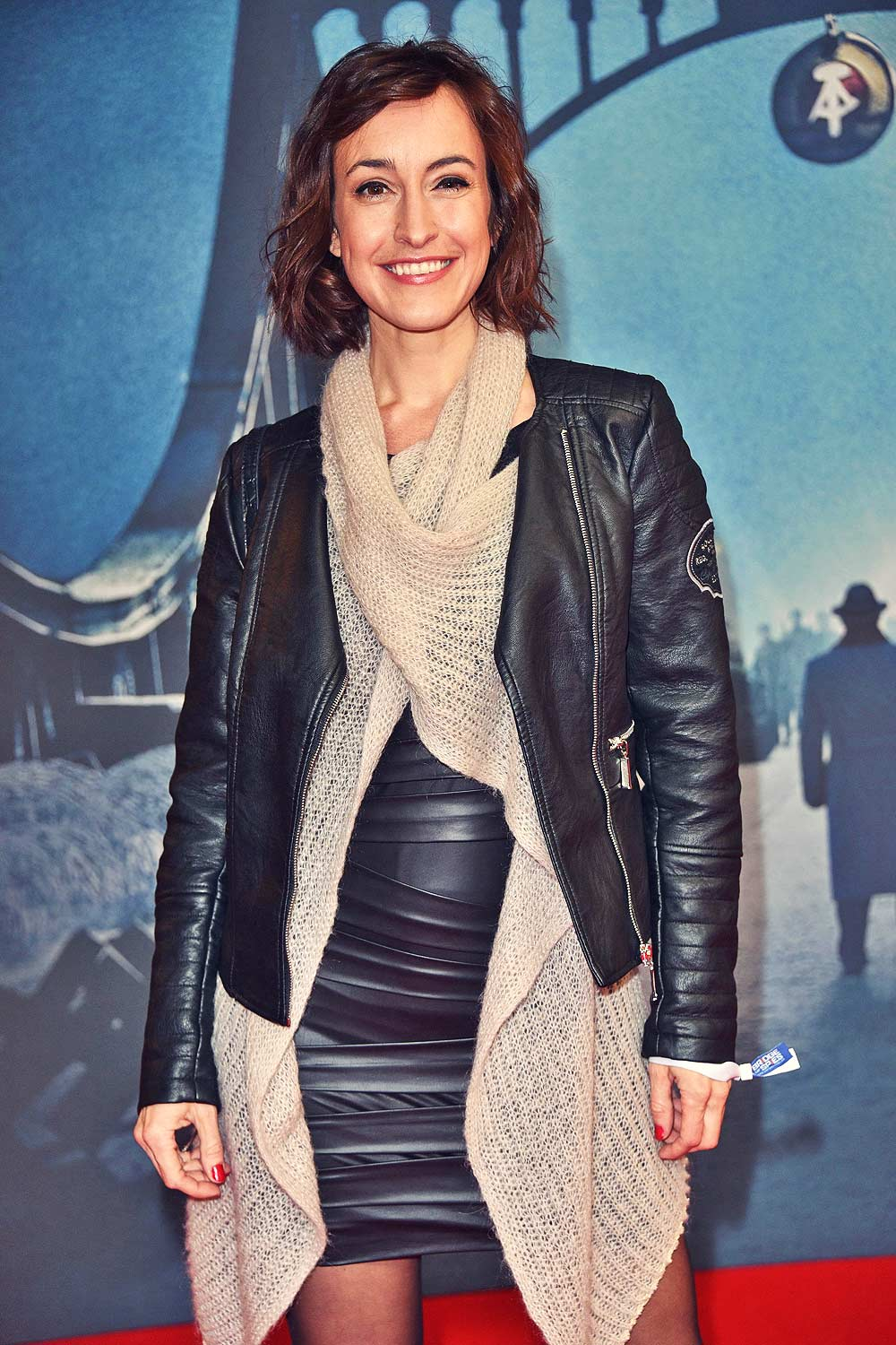Maike von Bremen attends The Berlin premiere of Bridge of Spies
