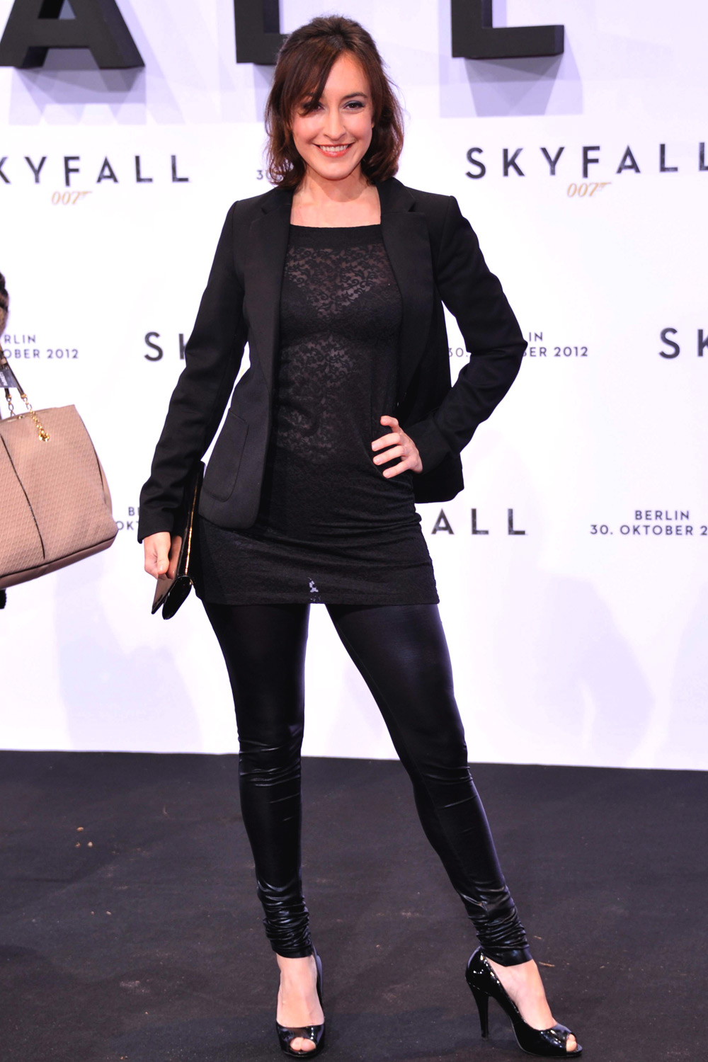 Maike von Bremen attends the German premiere of Skyfall