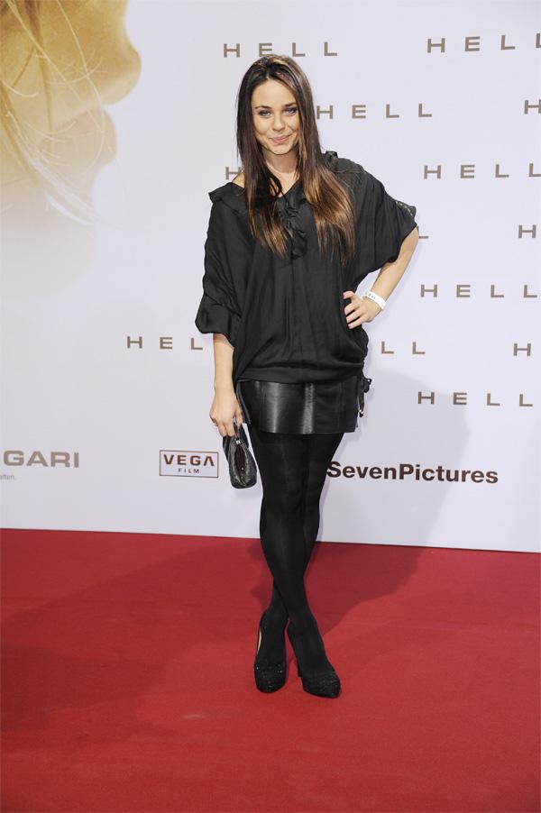 Maja Maneiro at Premiere of 'Hell - Die Sonne wird Euch verbrennen' in der Kulturbrauerei in Berlin