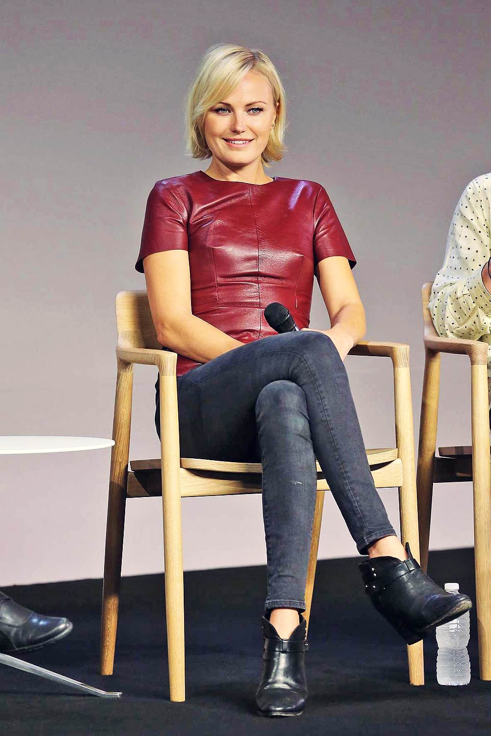Malin Akerman Discusses The Film The Final Girls Leather