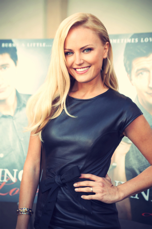 Malin Akerman at the special screening of Burning Love