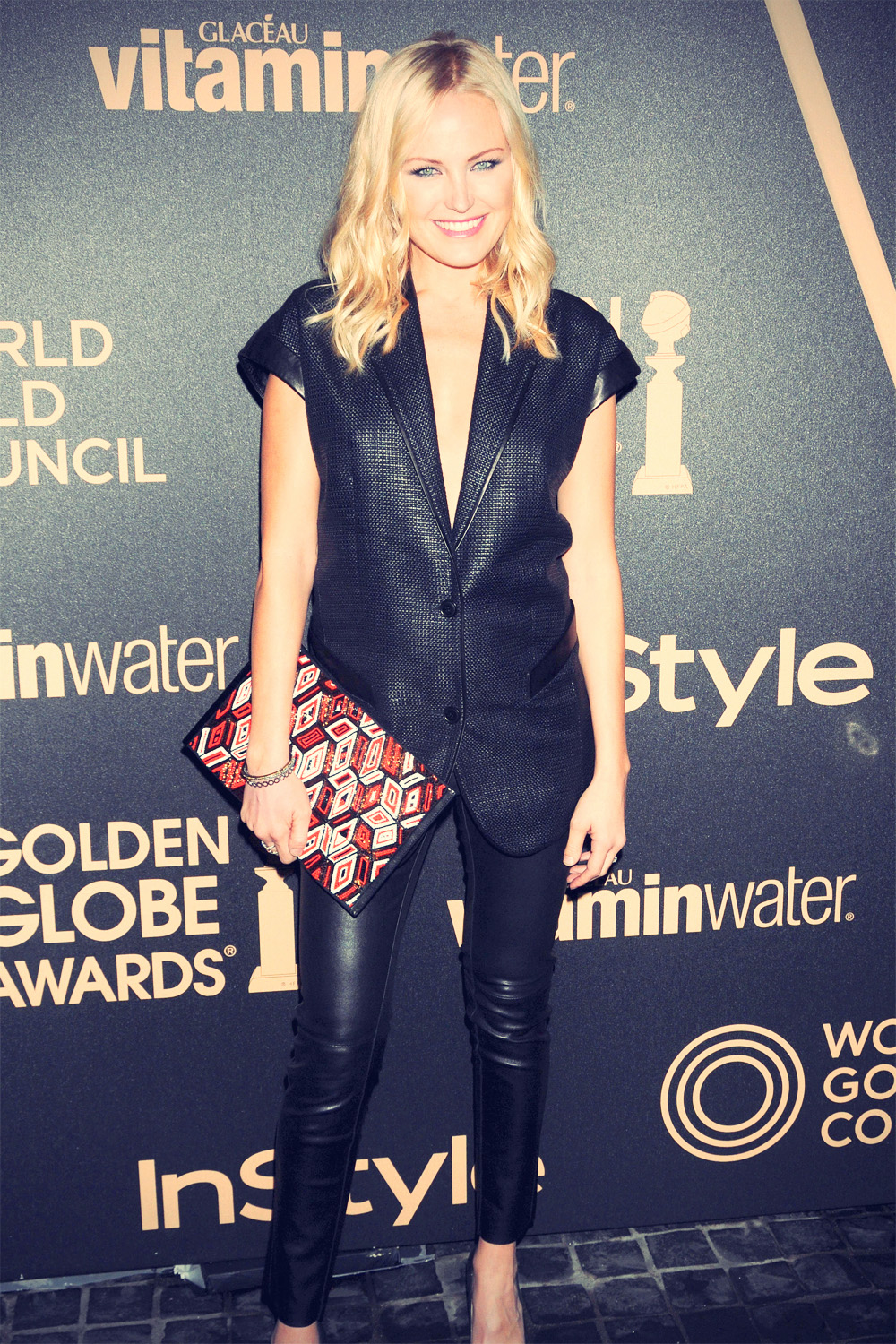 Malin Akerman attends InStyle Miss Golden Globe