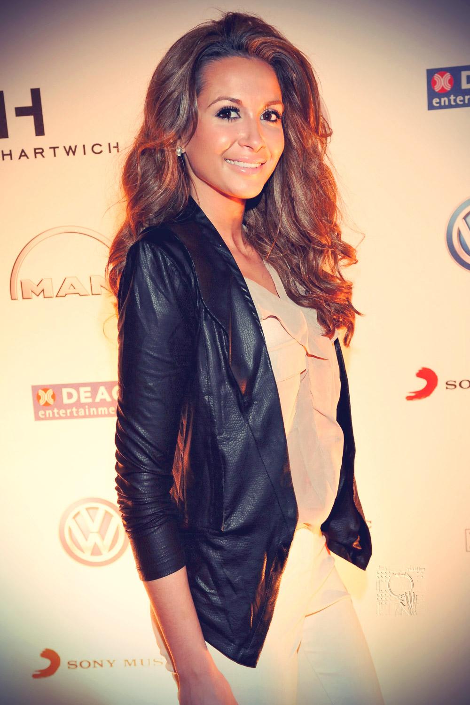 Mandy Capristo at Deutschland Premiere der Tabaluga Show