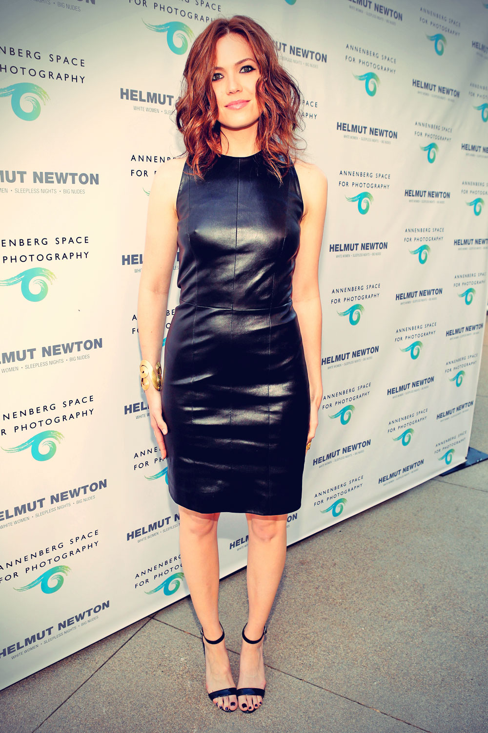 Mandy Moore attends Helmut Newton Opening Night exhibit