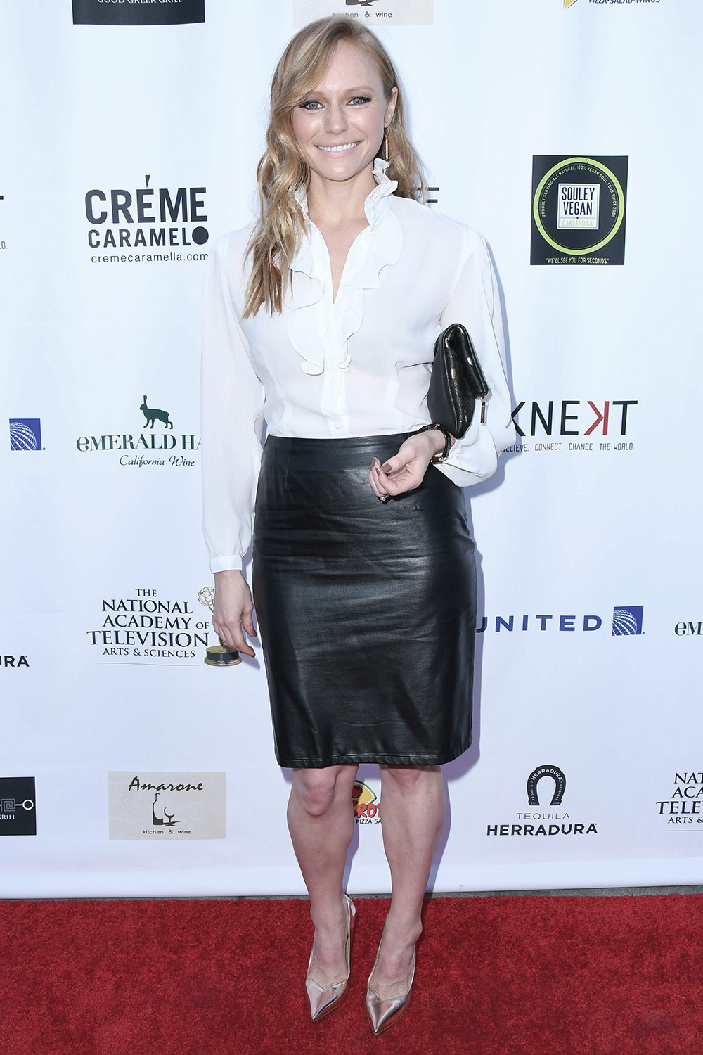 Marci Miller attends 45th Annual Daytime Emmy awards Nominee Reception