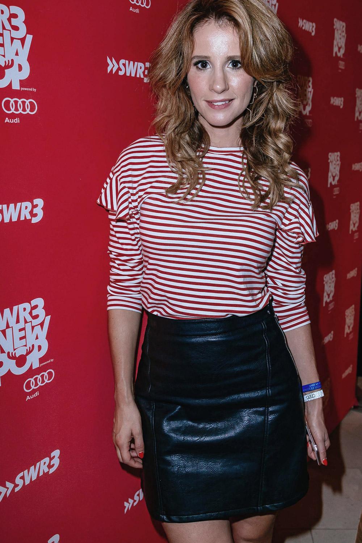 Mareile Hoppner attends SWR3 New Pop Festival