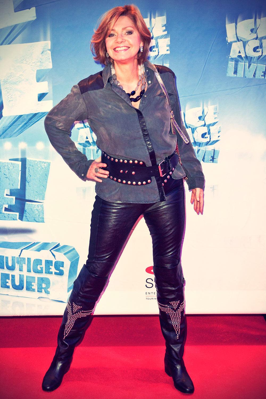 Maren Gilzer Premiere der Show ICE AGE LIVE