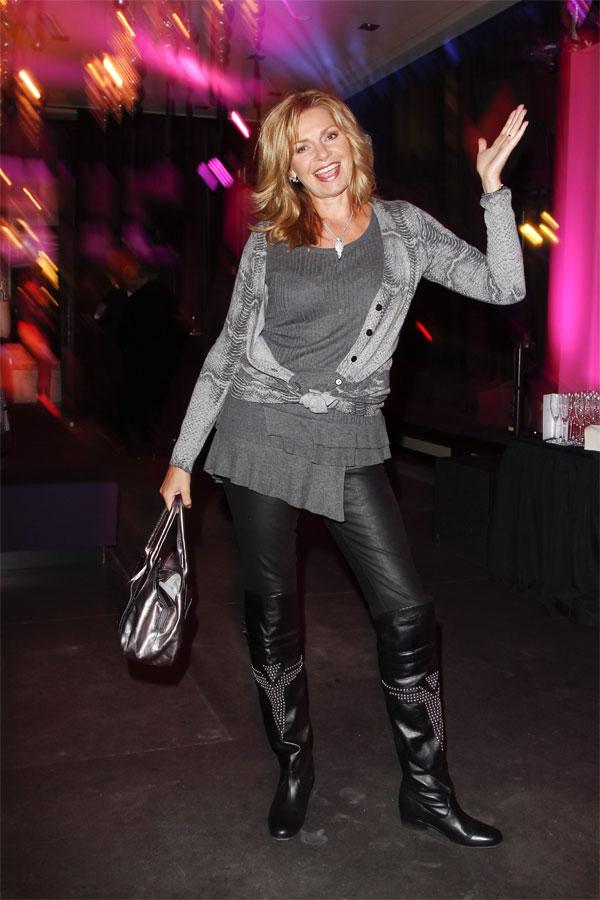 Maren Gilzer at Mercedes Benz Fashion Week