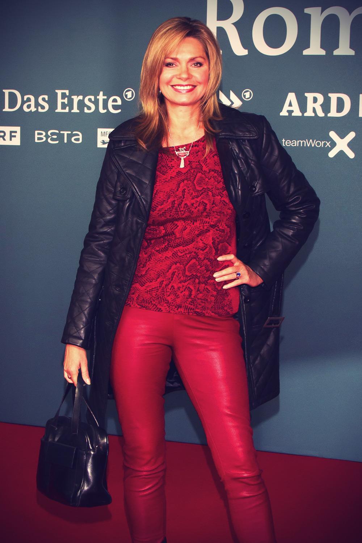 Maren Gilzer at ROMMEL Filmpremiere