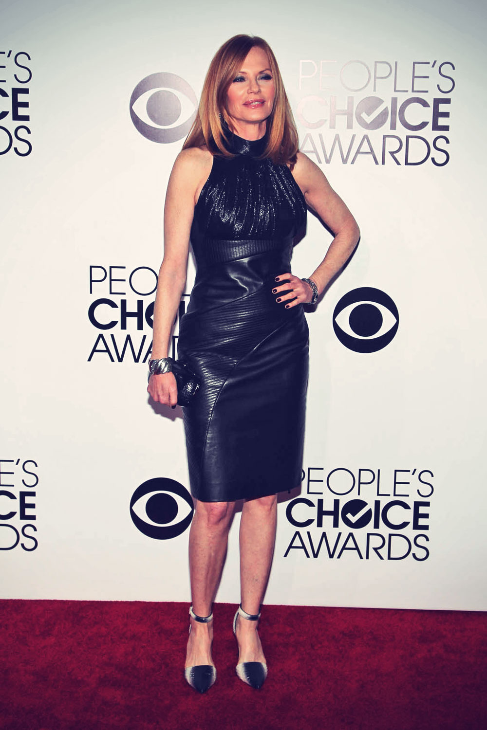 Marg Helgenberger attends The 40th Annual People's Choice Awards