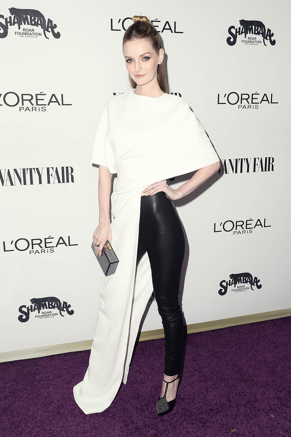 Lydia Hearst attends Vanity Fair and L'Oreal Paris Toast