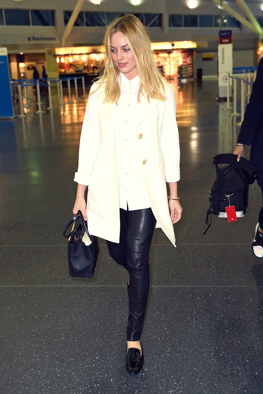 Margot Robbie at JFK