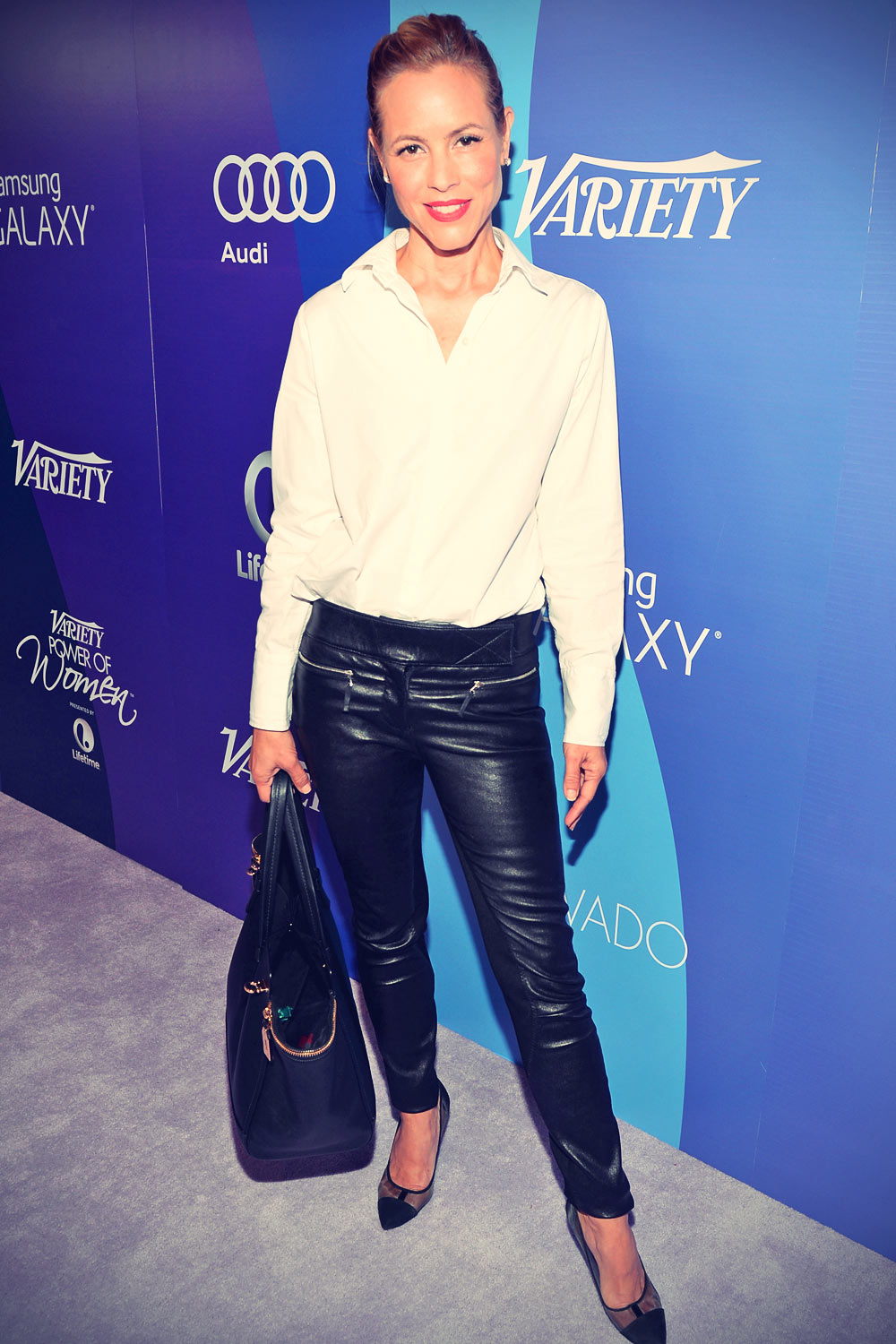 Maria Bello attends Variety's 5th Annual Power of Women Event