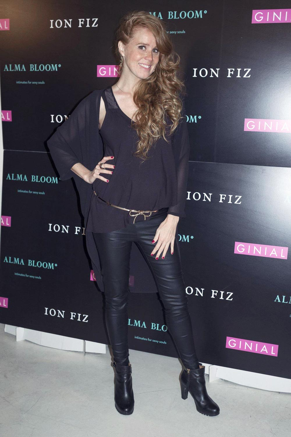 Maria Castro at the presentation of the new collection of Alma Bloom