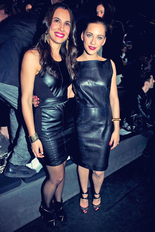 Maria Leon leather mix
