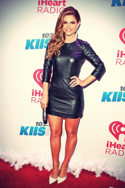 Maria Menounos attends KIIS FM's Jingle Ball 2013