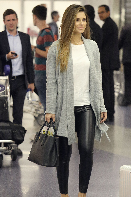 Maria Menounos arrives at LAX