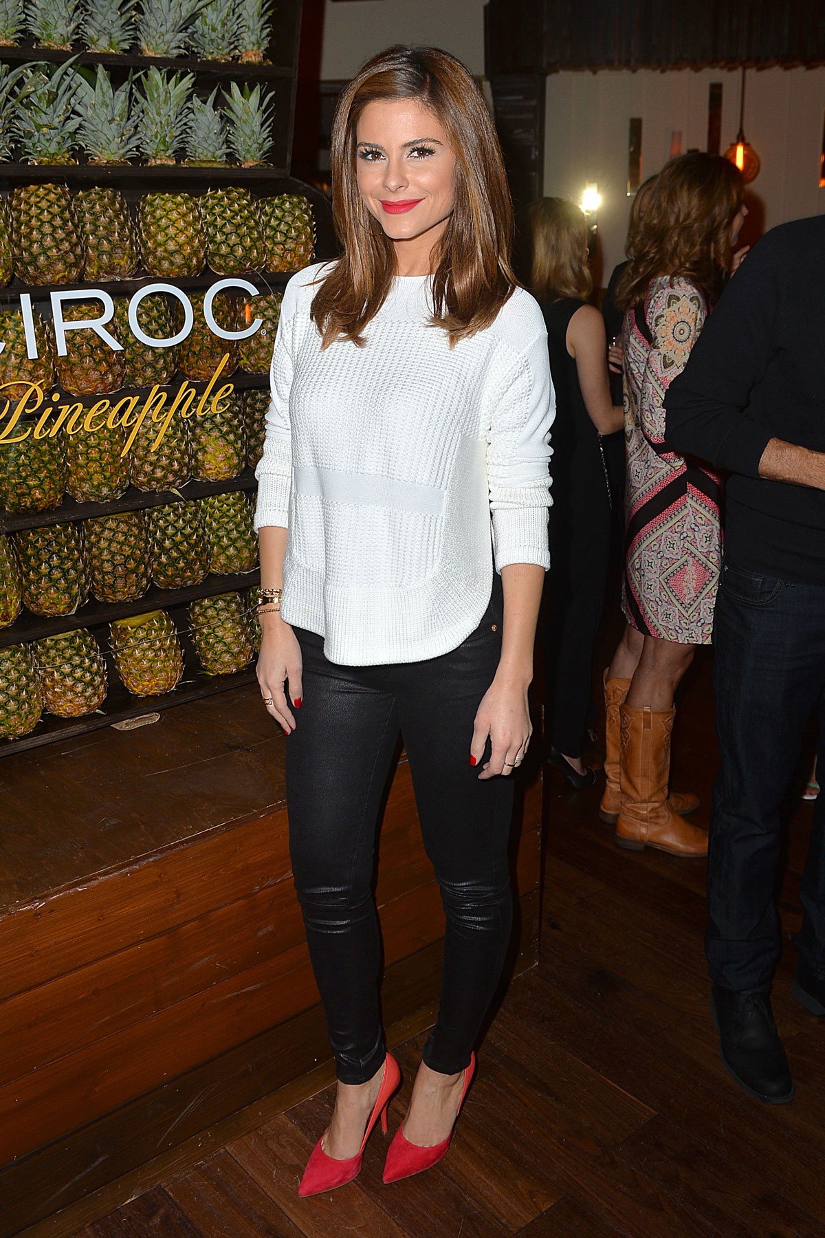 Maria Menounos at Ciroc Pineapple Event