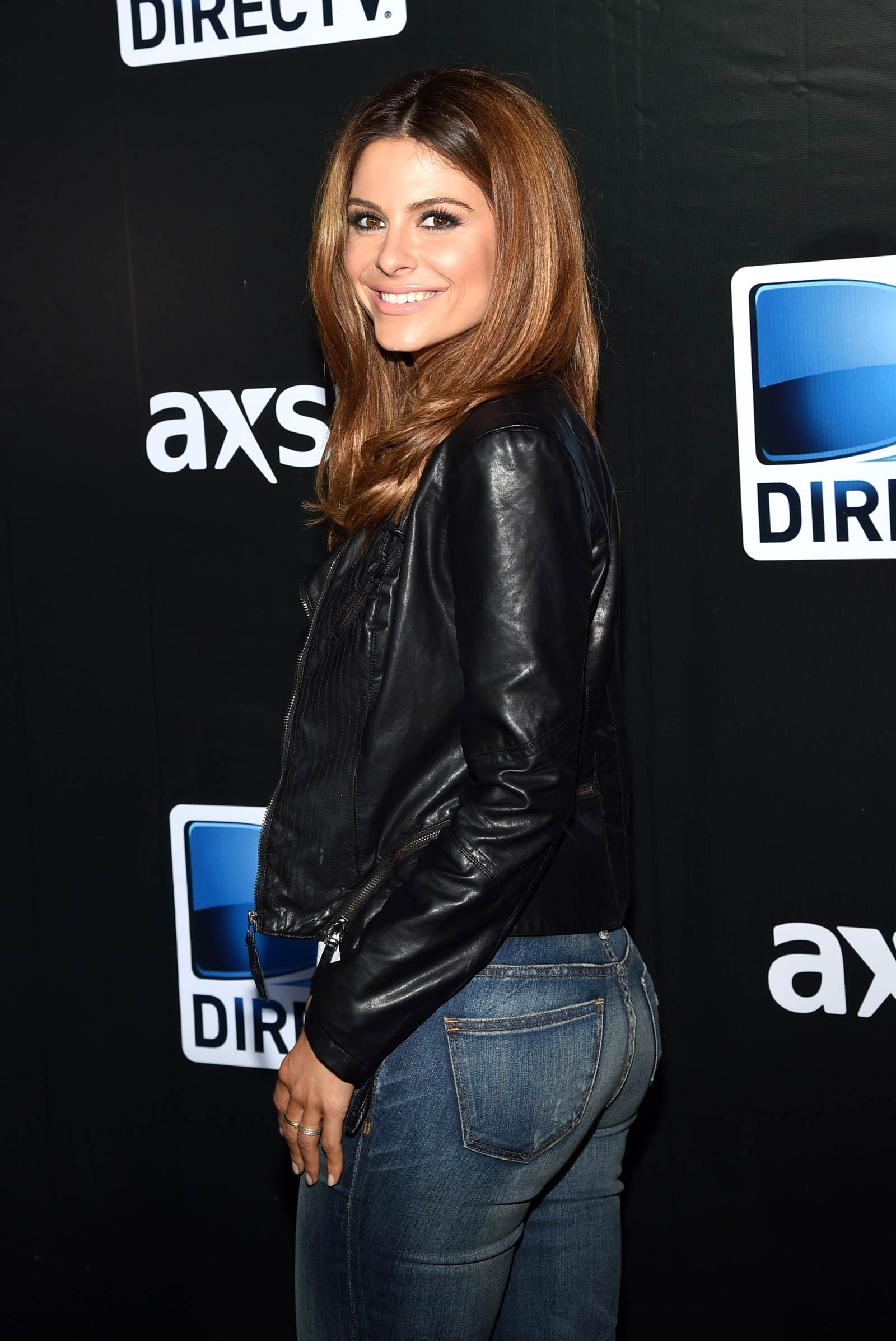 Maria Menounos attends DirecTV Super Saturday Night