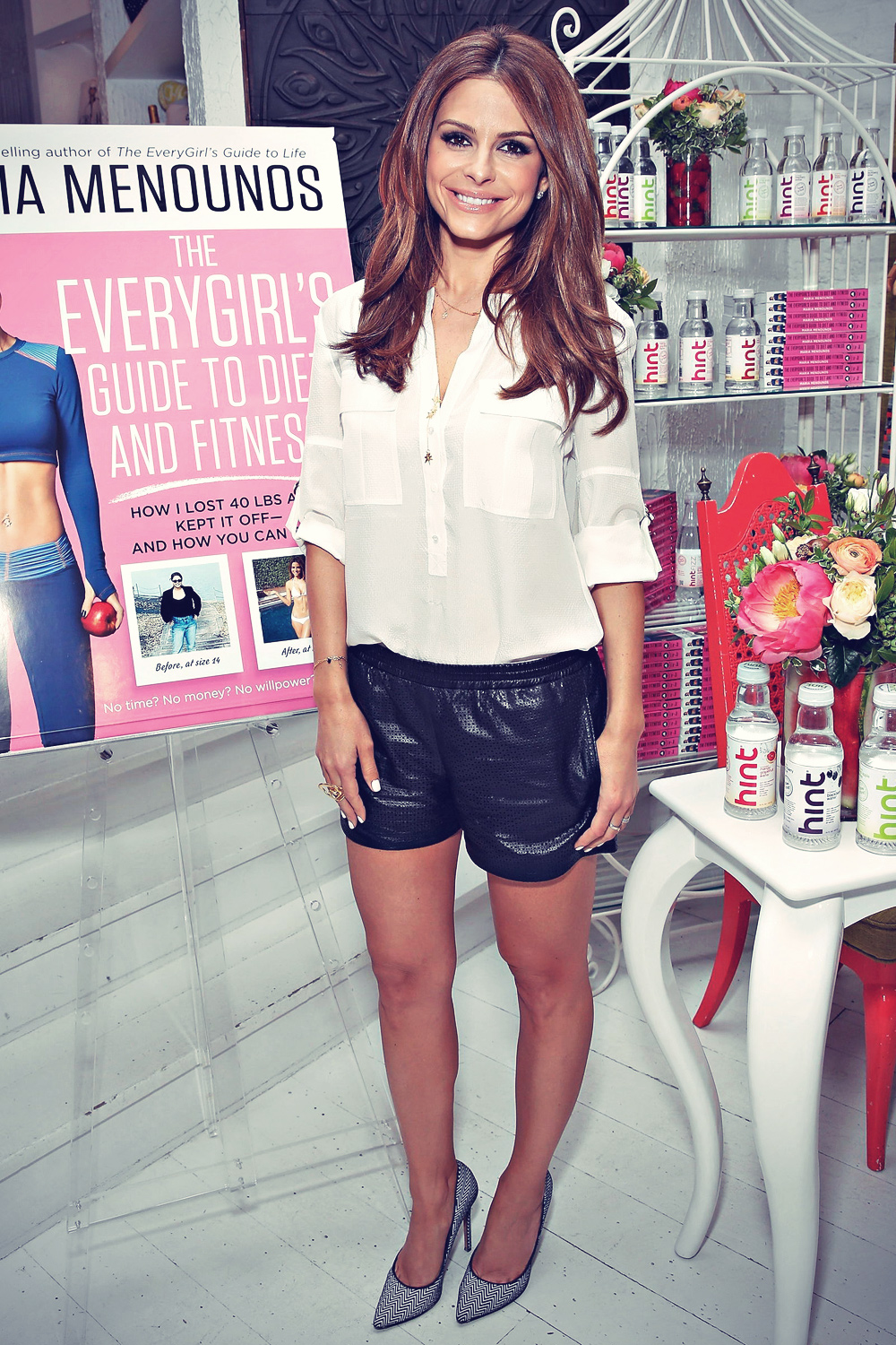 Maria Menounos attends The Everygirl Guide To Diet & Fitness launch party