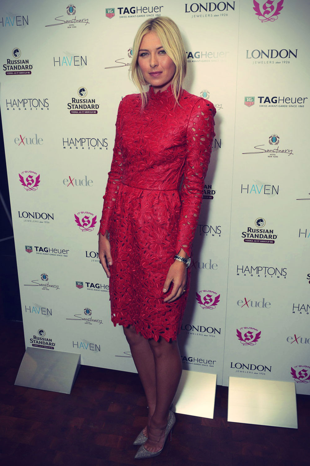 Maria Sharapova at Hamptons Magazine celebration