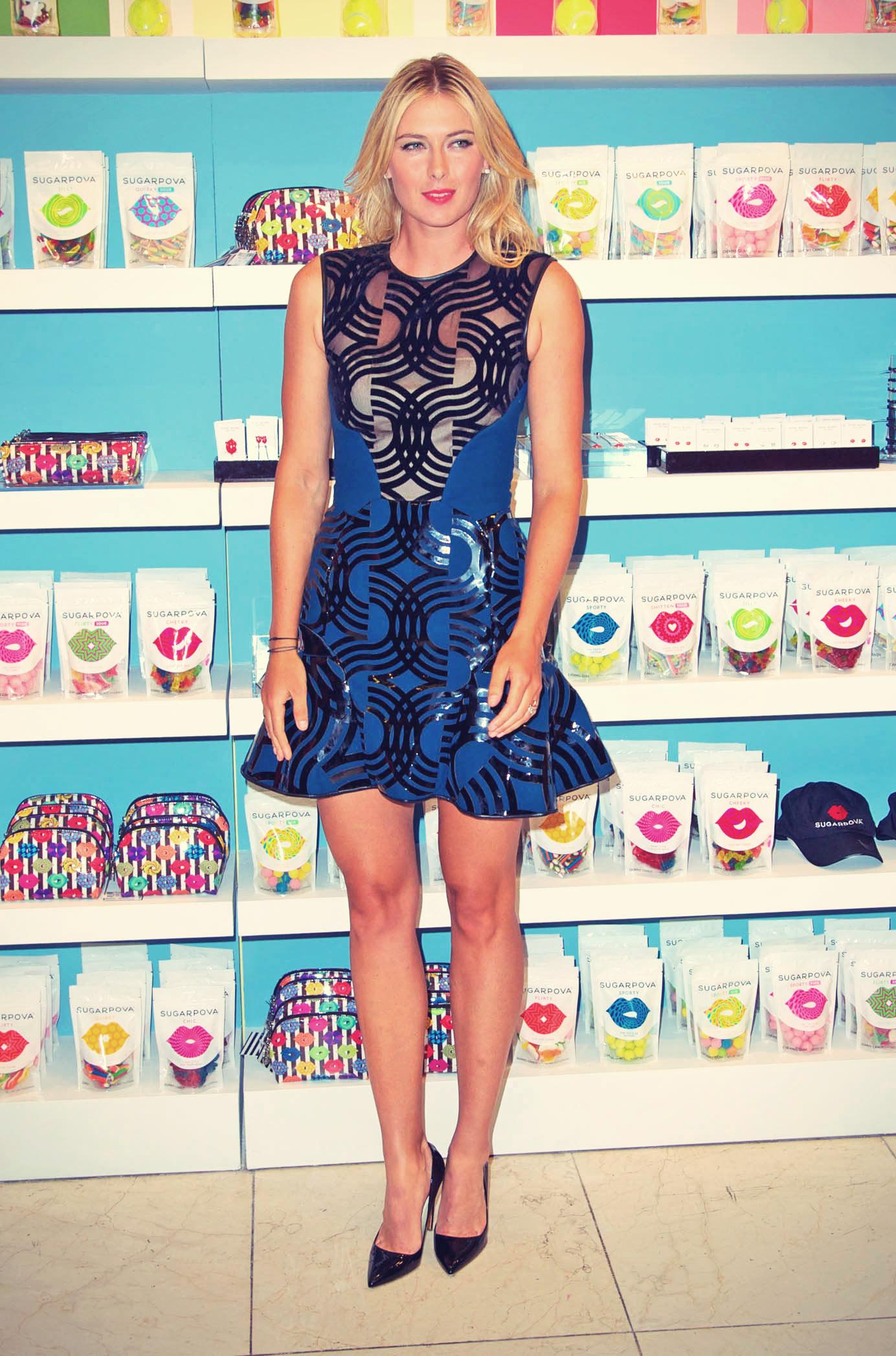 Maria Sharapova attends the Sugarpova Accessories Collection launch