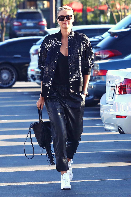 Maria Sharapova out shopping at Whole Foods