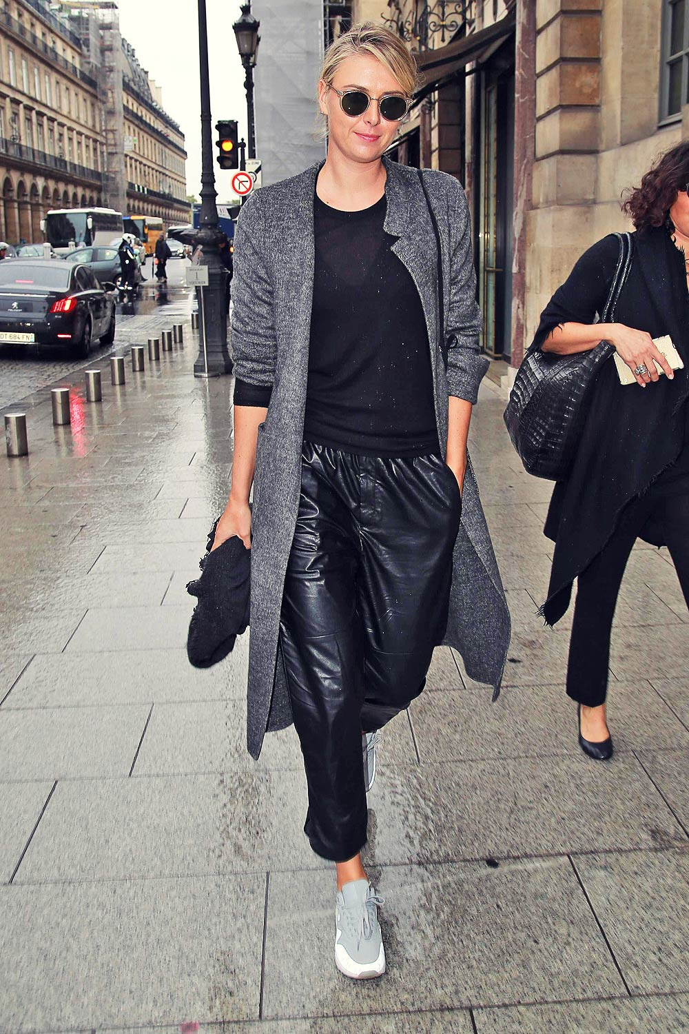 Maria Sharapova spotted out in Paris
