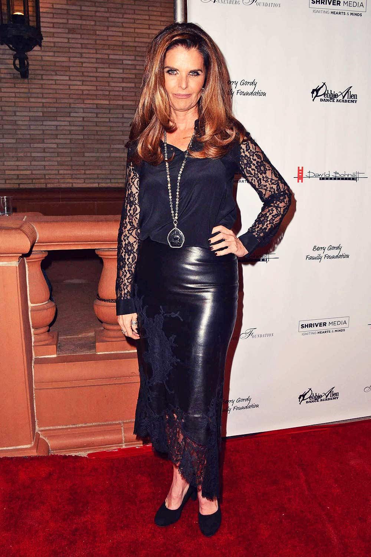 Maria Shriver attends Freeze Frame Gala