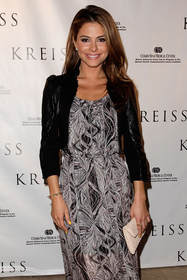 Maria Menounos at Kreiss