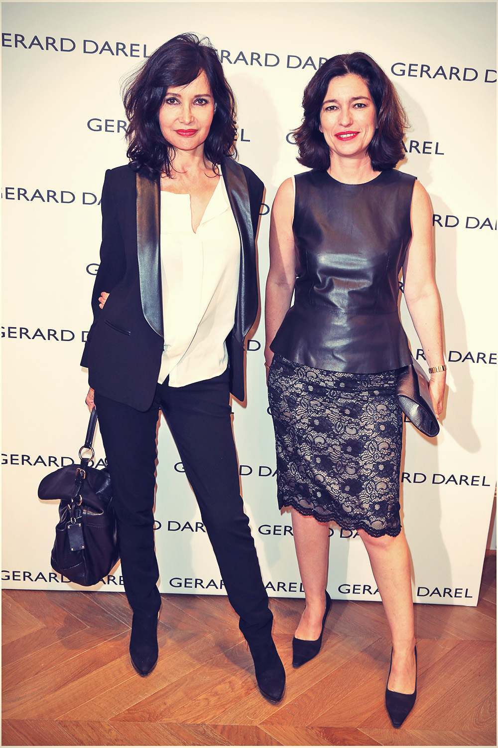 Marianne Romestain at Gerard Darel evening