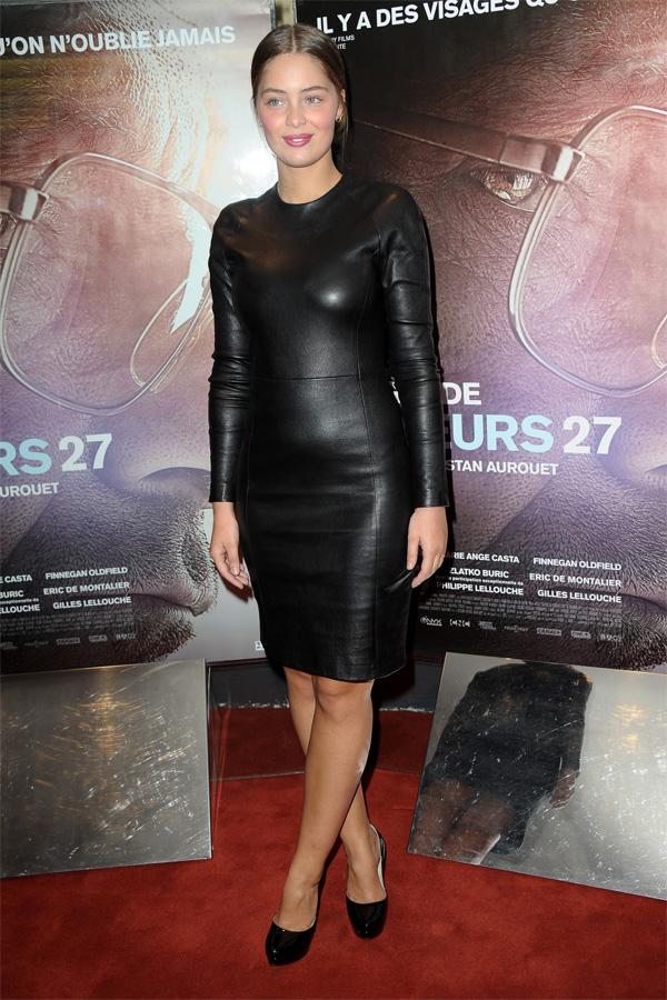 Marie-Ange Casta at Mineurs 27 Premiere in Paris