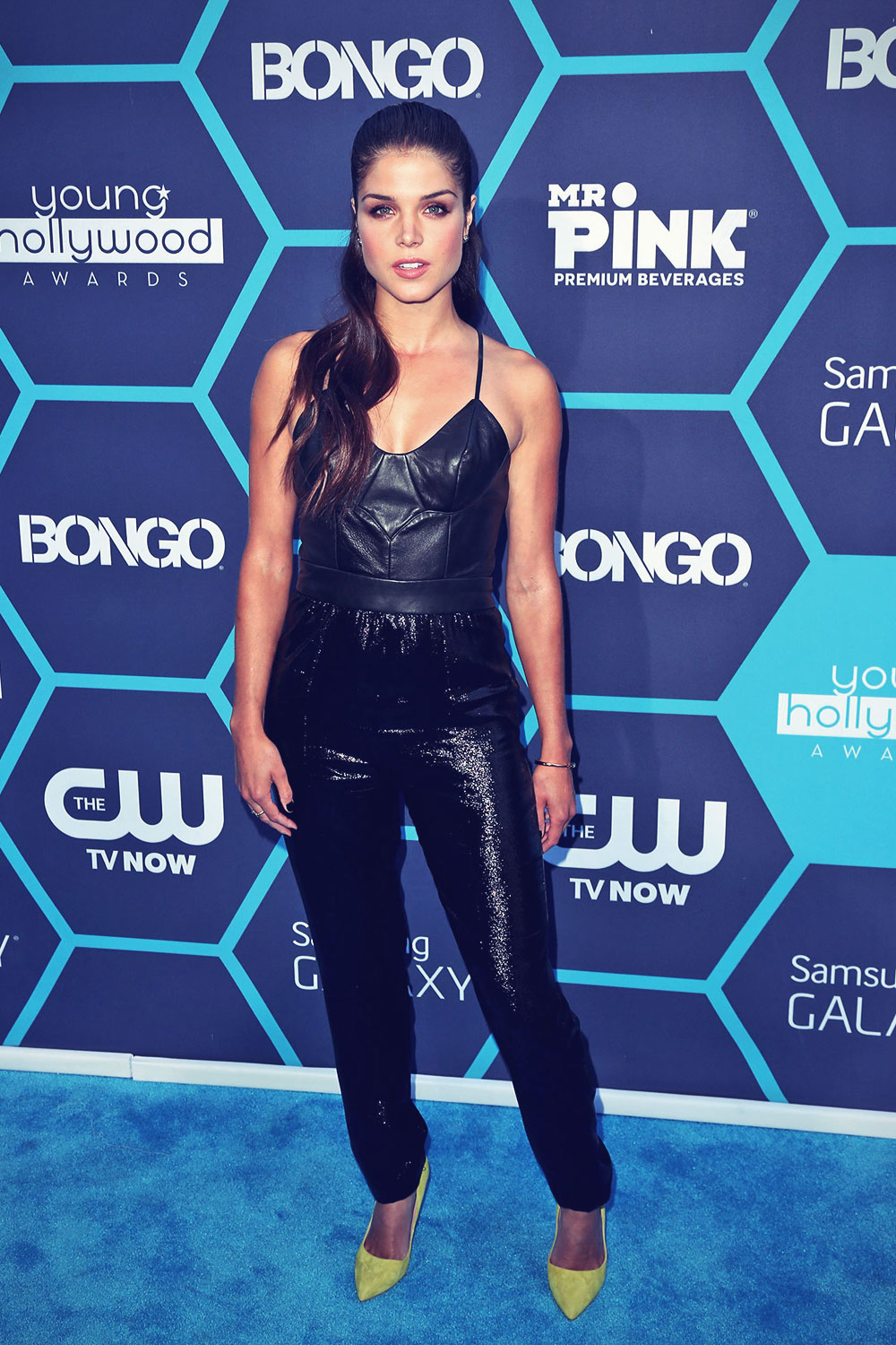 Marie Avgeropoulos attends 16th Annual Young Hollywood Awards