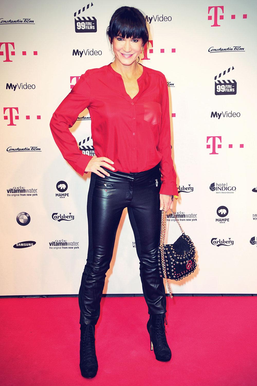 Mariella Ahrens attends 99Fire Films Award Berlinale