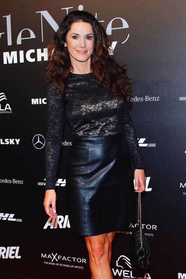 Mariella Ahrens at Berlin Fashion Week