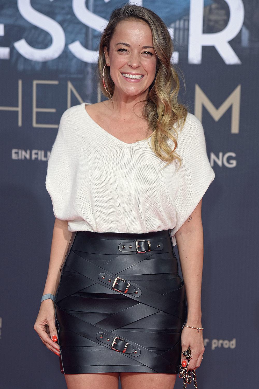 Marina Hoermanseder attends Premiere von Mackie Messer