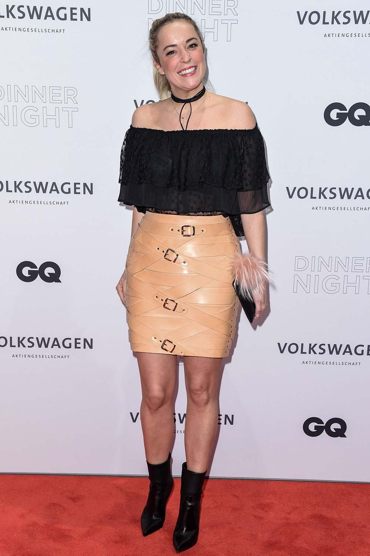 Marina Hoermanseder attends Volkswagen AG Dinner Night - Leather Celebrities