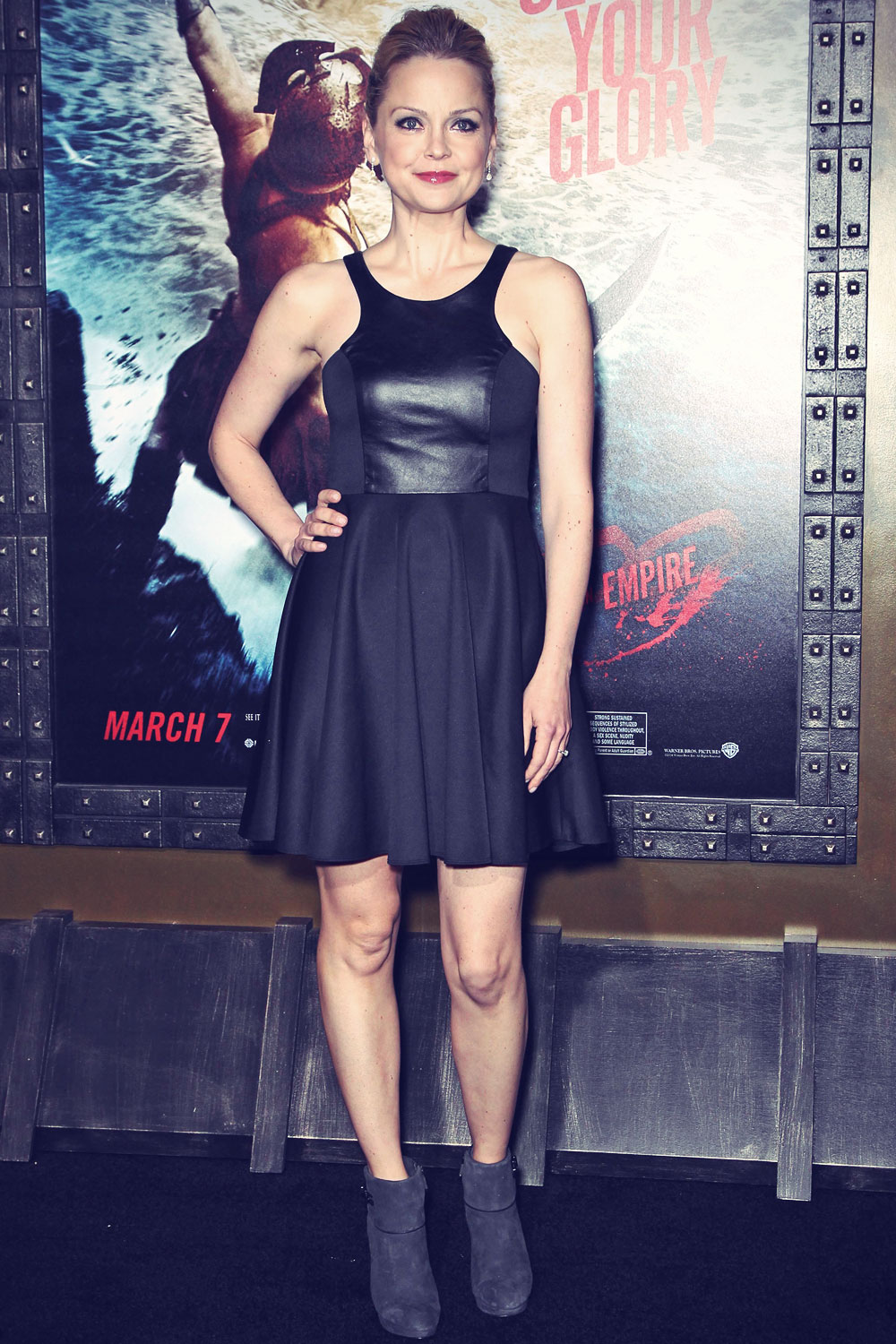 Marisa Coughlan attends 300 Rise of an Empire Hollywood Premiere
