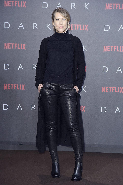 Marisa Leonie Bach attends Netflix premiere Serie Dark