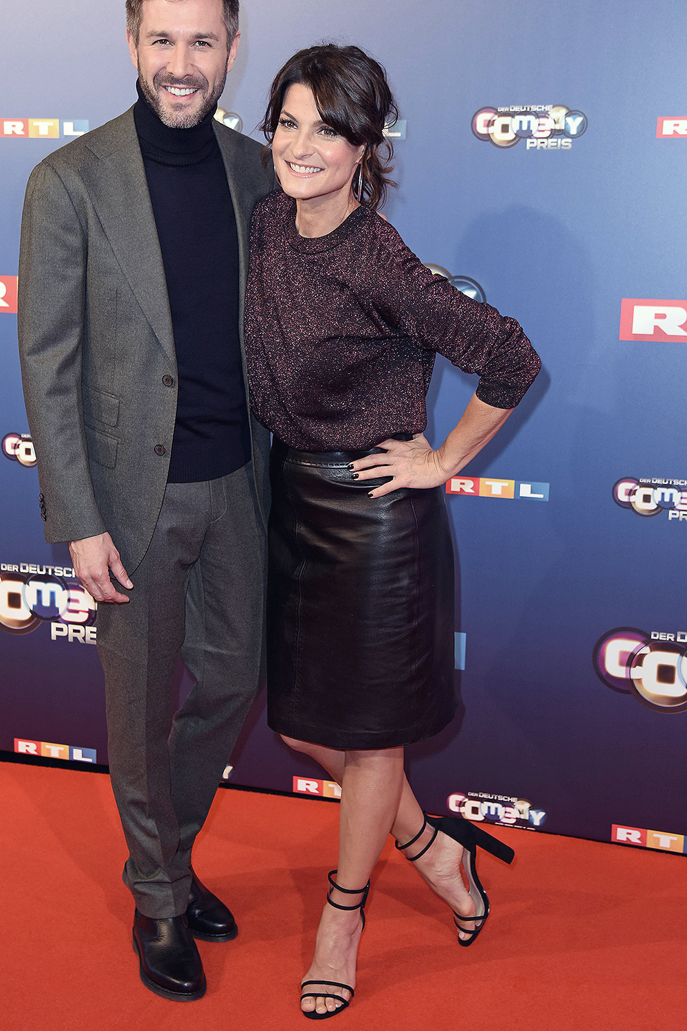 Marlene Lufen attends the 22nd Annual German Comedy Awards