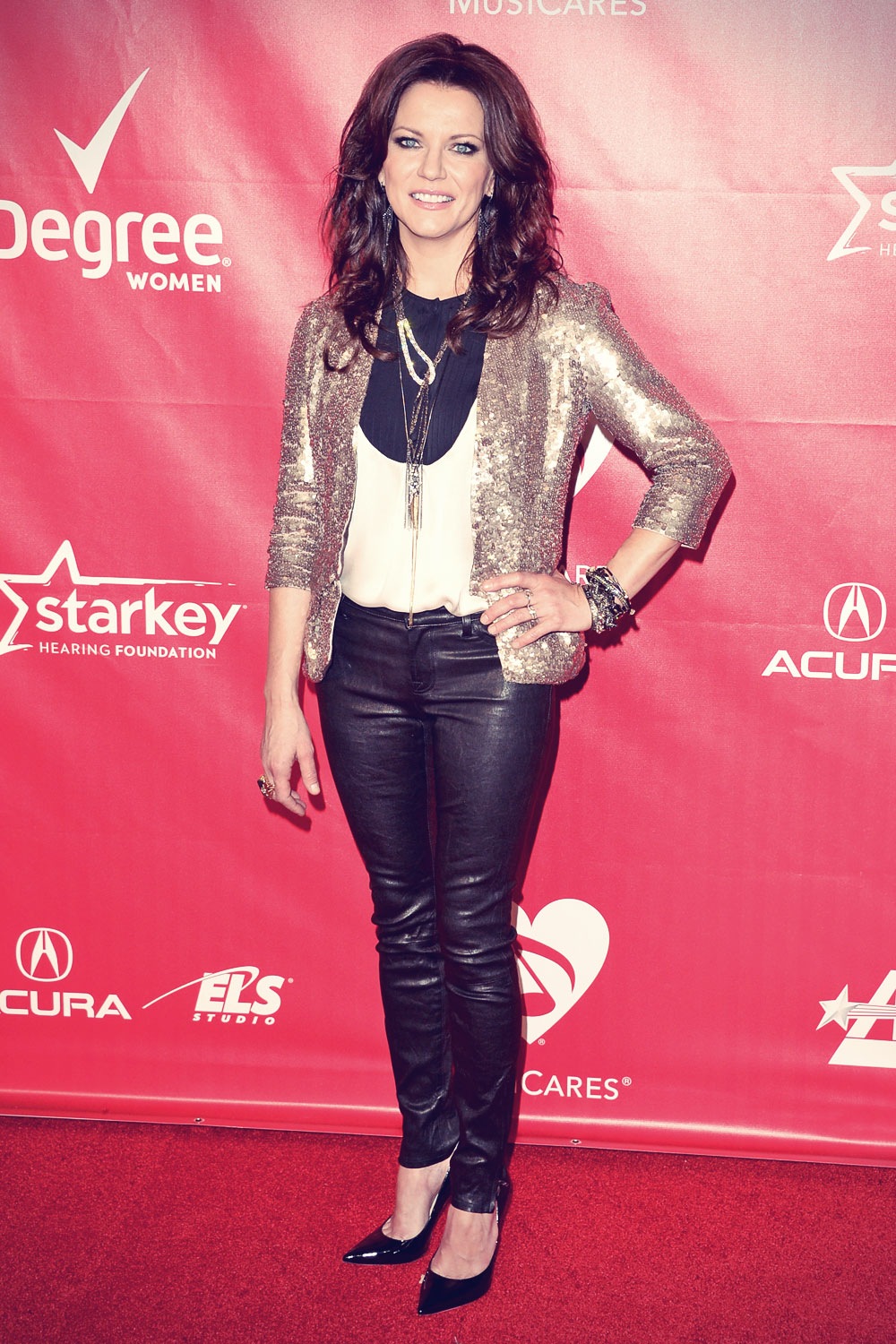 Martina McBride attends MusiCares Person Of The Year Honoring Carole King