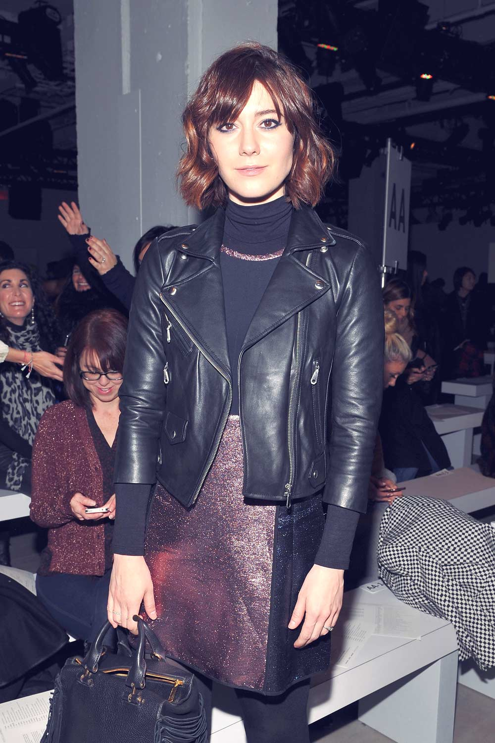 Mary Elizabeth Winstead at Rebecca Minkoff Fall