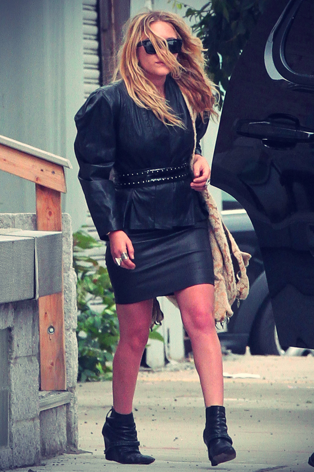 Mary Kate Olsen Out And About