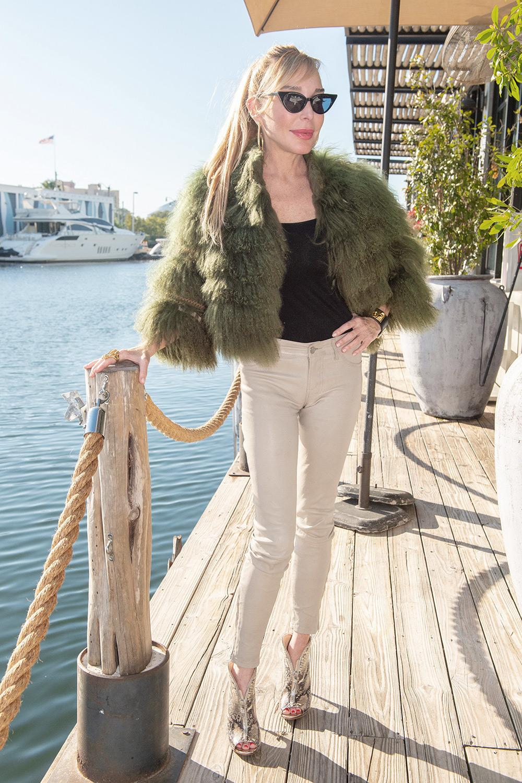 Marysol Patton at Miami's hangout Kiki