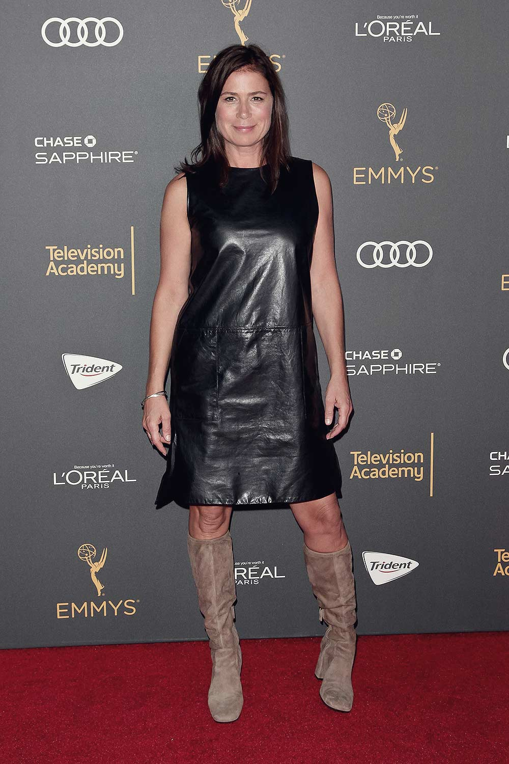 Maura Tierney arrives at the Television Academy Reception