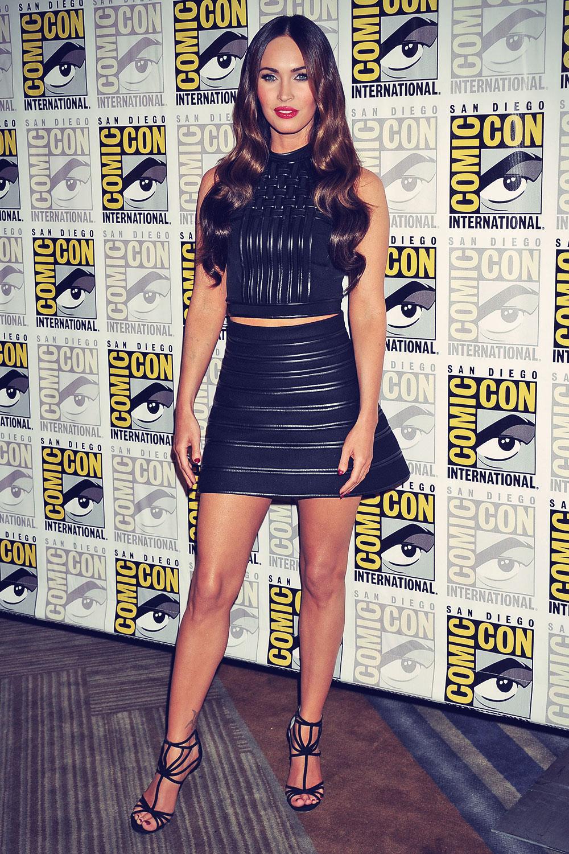 Megan Fox attends Teenage Mutant Ninja Turtles Paramount Studios