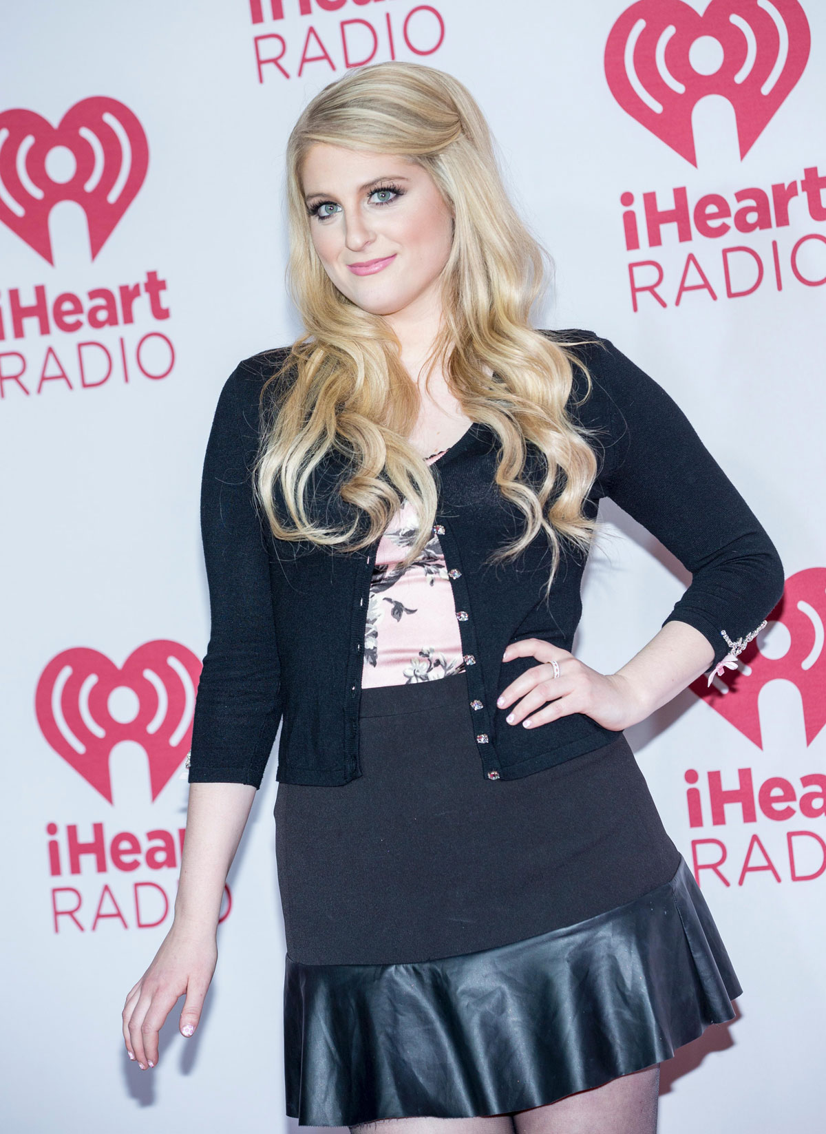 Meghan Trainor At Iheartradio Music Festival Leather