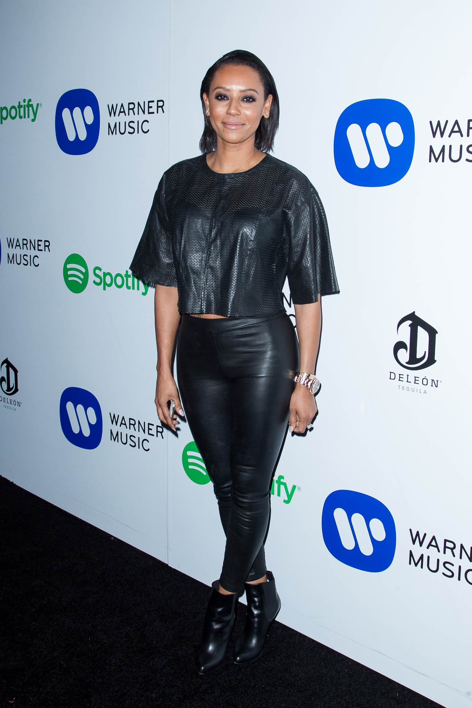 Mel B At The Warner Music Group S 2015 Grammy After Party
